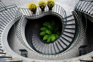 photography of stairs